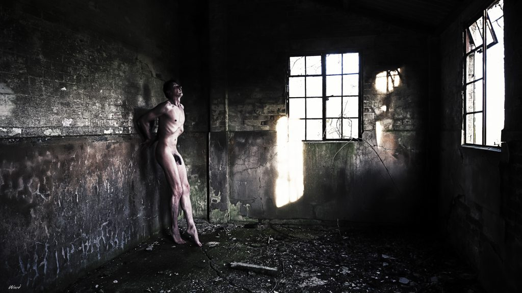 Colour Urbex Art Nudes