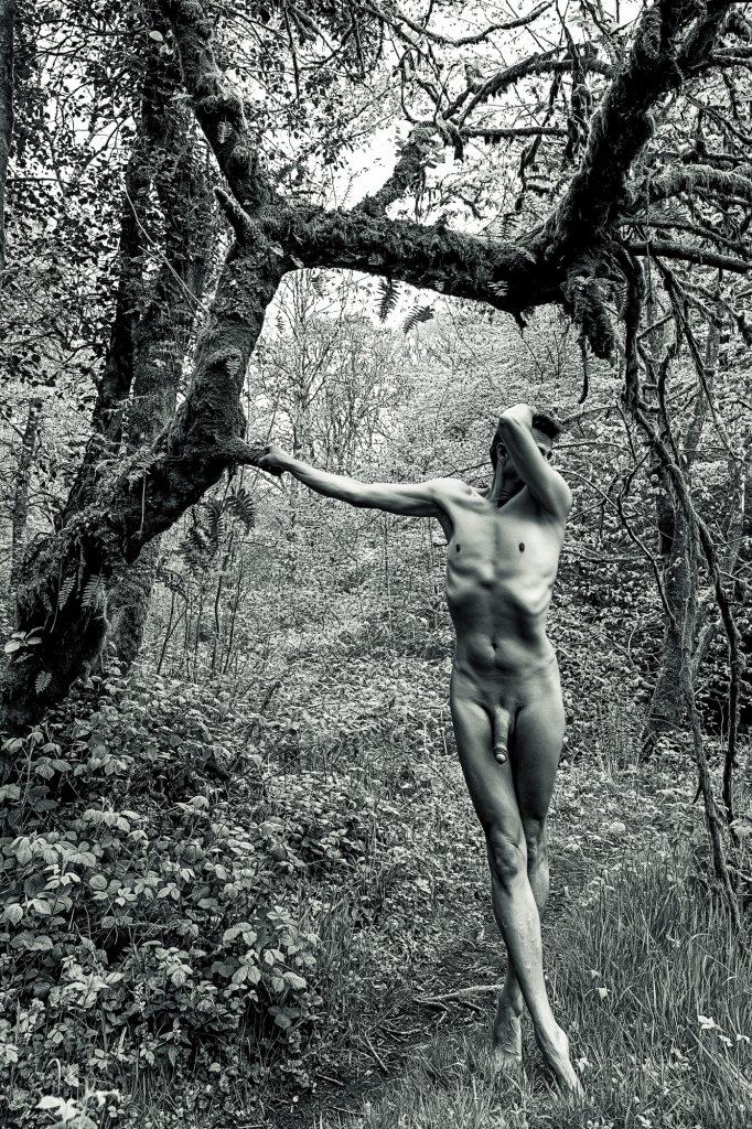 Mono Landscape Art Nudes